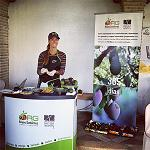 Picture of Degustaci�n Of guacamole and mango premium in the general assembly of Asaja M�laga