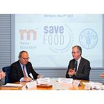 Picture of Messe D�sseldorf And the FAO establish a collaboration for the next years with Save Food