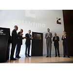 Picture of The Prince of Asturias inaugurates the new industrial plant Dekton of Group Cosentino