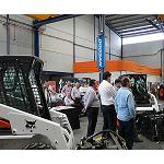 Picture of Centrocar Celebrates a day of open doors Bobcat in his new centre of operations