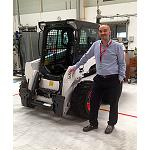 Picture of Interview to Jos� Square, vice-president of Compact Machinery in Doosan Infracore Construction Equipment for the zone EMEA