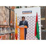 Picture of Interview to Emilio Mart�n, director of the warehouse of Bricomart in Sant Quirze of the Vall�s, Barcelona