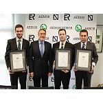 Picture of First certificates Aenor of Quality of the Product Software