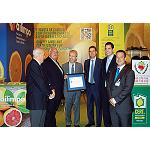 Picture of European mark of excellence for the Spanish lemon