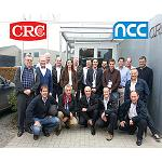 Picture of The company CRC Industries Iberia invites to a representation of the group NCC to visit his European head office in Belgium