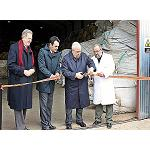 Picture of Inaugurated the plant of classification of wool of Oviarag�n-Group Shepherds