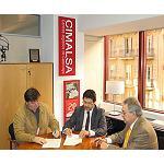 Foto de Cimalsa establece un acuerdo de colaboraci�n en materia de aparcamientos de veh�culos pesados con la empresa Llull 80
