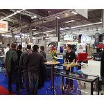 Picture of It goes back Simodec, the International Living room of the Machine-Tool for the bar-cutting