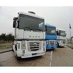 Picture of Trucks and trailers in the auction of Ritchie Bros. In Spain in December