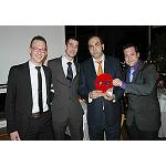 Picture of Apples Val Venosta delivers the Prize to the Best Alimentary Product to the beer Cerex