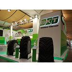 Picture of BKT Leaves footprint in Agritechnica