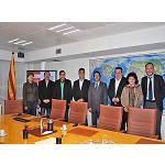Foto de Cimalsa recibe la visita de una delegaci�n del Consejo de Hunedoara de Rumania