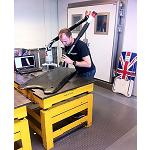 Picture of Hexagon Metrology Collaborates with the olympic team of skeleton