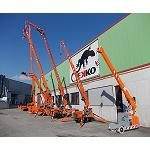 Picture of Transgr�as, new distributor of the mini cranes Jekko
