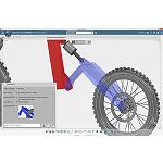 Picture of Dassault Syst�mes Launches the first application Solidworks on the platform 3Dexperience: Solidworks Mechanical Conceptual