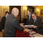Picture of The City council of Lleida awards to Afrucat a distinction like company solidaria