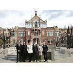 Picture of Pastor inaugurates the works of rehabilitation of the Hospital of the Saint Creu i Sant Pau