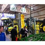 Picture of The self-propelled atomiser Striker, big attraction in the stand of Caffini in FIMA