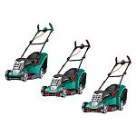 Picture of The best form to take care the garden with the new lawnmowers Rotak of Bosch