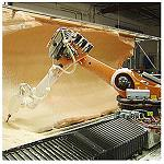 Picture of Automation of the milling of structural elements of big format by means of a robot Kuka of 6 axles