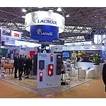 Picture of Lacroix Signaling carries to Intertraffic his solutions for traffic, mobility and urban equipment