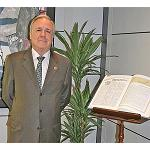 Picture of Juan Francisco Lazcano, new president of the AEC
