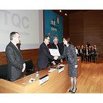 Picture of Special recognition Cepta 2013 to the Technological Centre of the Chemicals