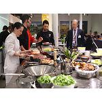 Picture of Eblex Offers one dines tasting and a showcooking to the sector of the meat distribution