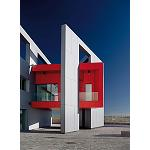 Picture of The architectural panels Vivix of Formica create attractor trucks fa�ades with colour blocking