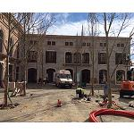 Picture of ROI tackles the rehabilitation of the carpentry of the shopping centre of the Rock of the Vall�s