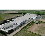 Picture of The factory of Saint-Gobain Placo in Saragossa, rewarded by the development of the new plate 4PRO