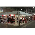 Picture of Rubi Assisted to Smopyc 2014 with a stand full of novelties