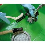 Picture of Cleaning of easy and ecological pieces with the Mewa Bio-Circle