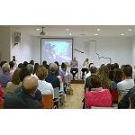 Foto de Conferencia exitosa sobre los beneficios del consumo moderado de vino en Almansa