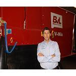 Foto de Entrevista a Juan Pablo Hernang�mez, responsable de la marca BvL en Deltacinco