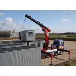 Picture of La gr�a Fassi F1950RAL exhibe su alto potencial de trabajo en tierras danesas