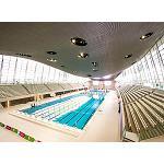 Fotografia de La tecno-superficie DuPont Corian se suma a la elegancia del Aquatics Centre de Londres