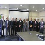 Foto de Constituida la empresa 'Combiterminal Catalonia', que construir� la estaci�n intermodal del centro de producci�n de Basf Espa�ola