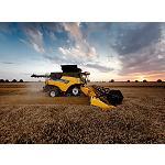 Foto de New Holland redise�a sus cosechadoras CR para alcanzar el m�ximo rendimiento