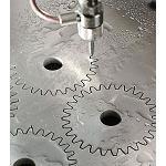 Foto de Corte por chorro de agua con intensificadores hidr�ulicos 'advanced intensifier technology'