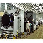 Picture of Primera l�nea en Asia para la extrusi�n de tubo de 2.000 mm con enfriamiento interno