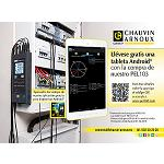 Picture of Chauvin Arnoux regala un tableta Android con la compra de un PEL103