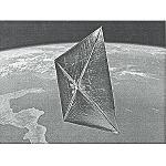 Foto de La vela solar de kapton ser� lanzada el pr�ximo mes de noviembre