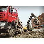 Foto de Las excavadoras Volvo trabajan en la construcci�n de un nuevo centro comercial en China