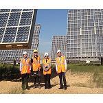 Foto de Parques Solares de Navarra recibe la visita de la embajadora de Tailandia