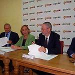 Foto de El Grupo Baco y DCOOP firman su fusi�n constituyendo la mayor cooperativa del sur de Espa�a