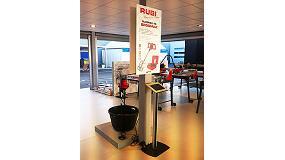 Foto de Rubi expone en Cersaie 2014 la innovación al servicio del profesional