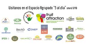 Foto de '5 al día' se presenta en Fruit Attraction 2014 en un espacio agrupado