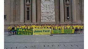 Foto de Los corredores de MANN-FILTER completan 3.027 km en el Maratón de Zaragoza 2014