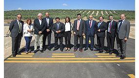 Foto de El consejero de Econom�a y directivos de Airbus visitan el Centro Atlas